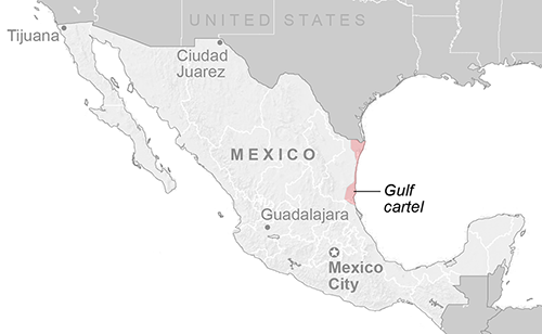Who Was Charged With Drug Trafficking And Threatening U S Law Enforcement Since 2010 The Gulf Cartel Has Battled Its Former Security Wing The Zetas