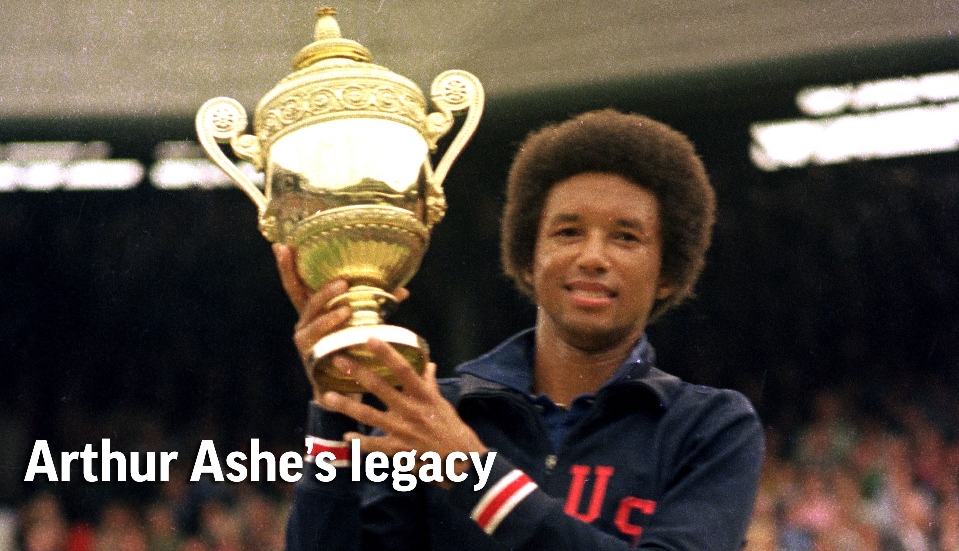 When Arthur Ashe made history at Wimbledon Press Herald