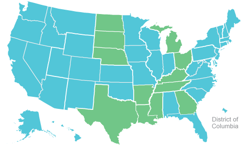 Interactive Map The Recent History Of Gay Marriage In The US - Map of same sex marriage in the us